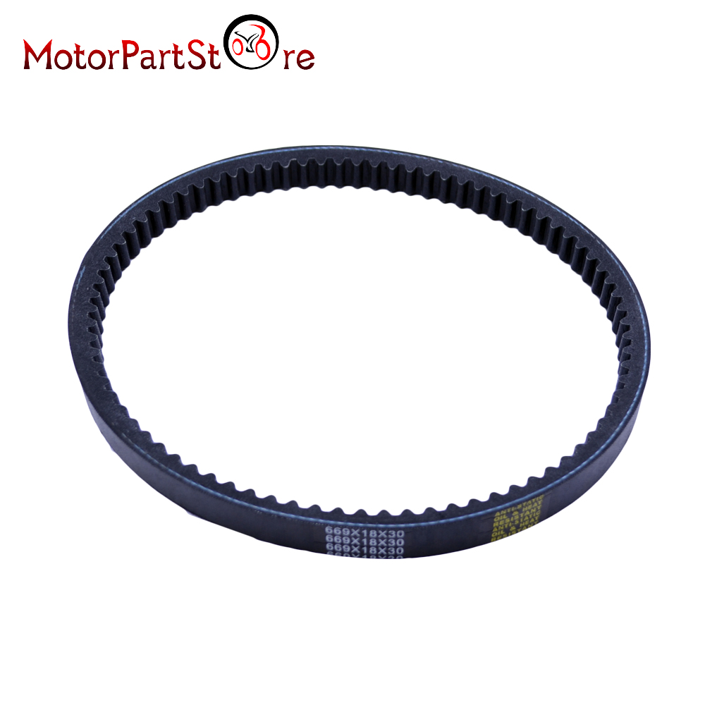 Buy Drive Belt 669 18 30 Scooter Moped 50cc For Gy6 Baja Sc50 Wiring Harness 4 Stroke Engines Fits Most Rubber Transmission Belts Pulley D10 From