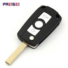 Replacement Flip Key Shells For BMW 3 5 Series Remote Modified Key Fobs With Logo HU92 Blade все цены