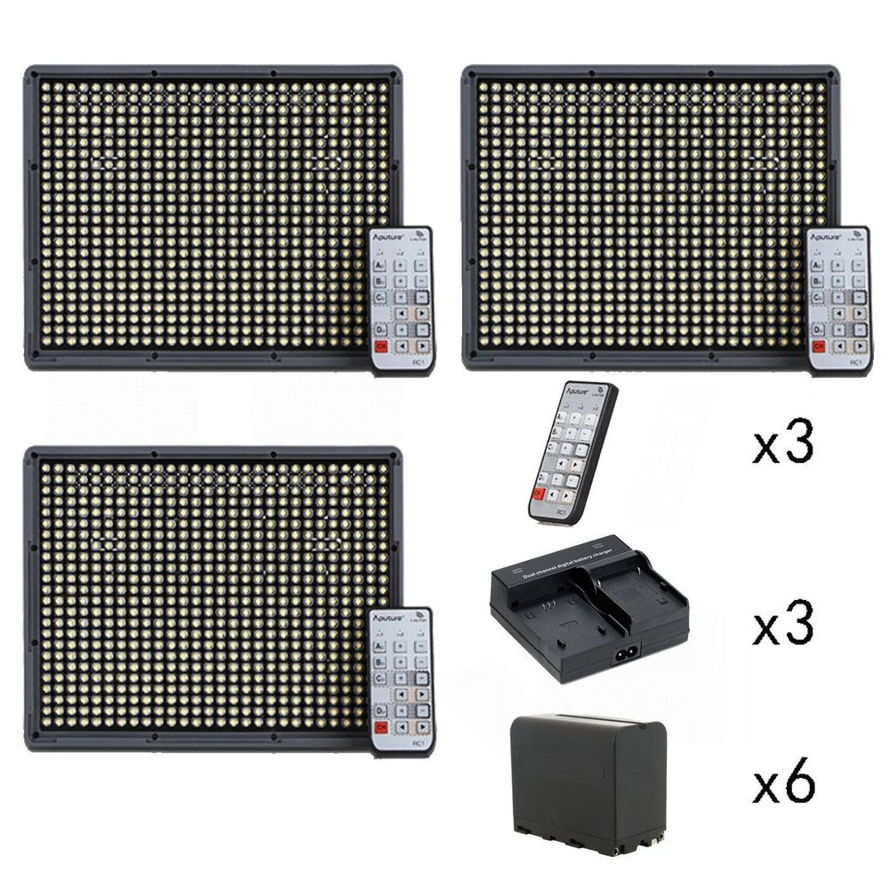 Aputure 2x HR672C + HR672W CRI 95+ LED Video Light Kit, 6* NP-F970, Dual charger adjustable laptop desk computer table office furniture desk laptop stand desk modern notebook table laptop bed tray page 7