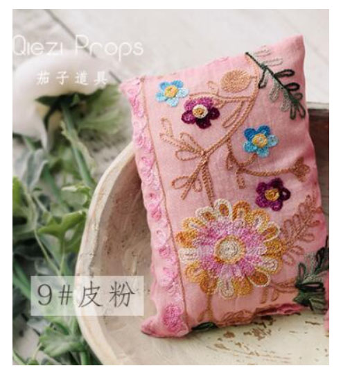 Baby photo props baby embroidered pillow pose positioning pillow newborn studio photo props accessories 5