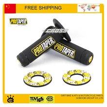 Рукоятка PRO taper Универсальное крепление комплект ручки PROGRIP мотокросса эндуро руль PRO ручки желтый RM полный Алмазный захват черный