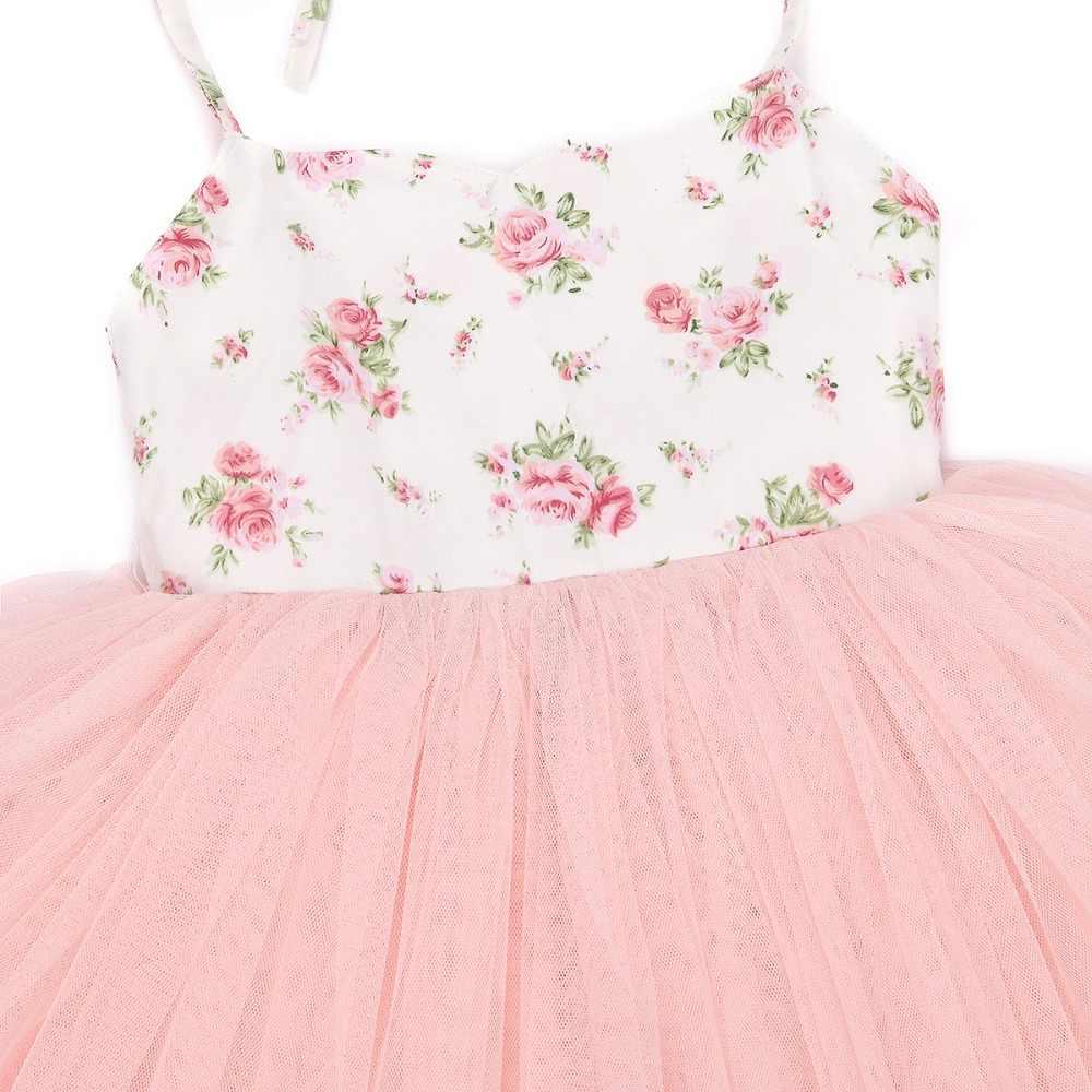 4 слоя тюля с винтажным цветочным топом, летняя Праздничная свадебная одежда, специальное предложение, детские платья принцессы для девочек, одежда