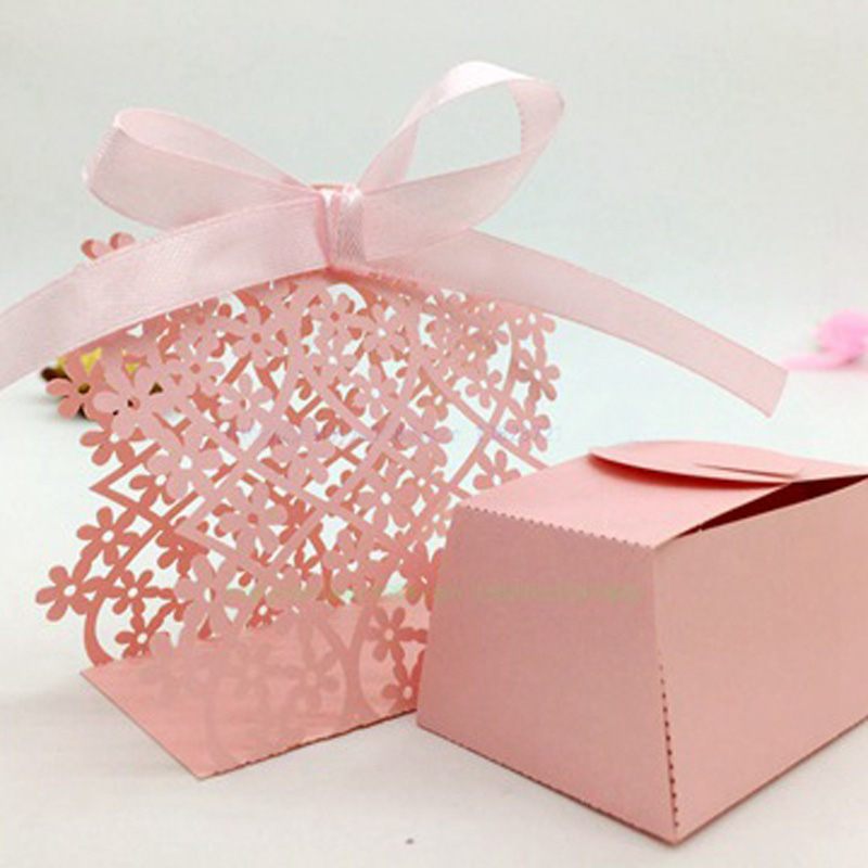 wedding favor candy boxes wholesale