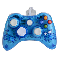 NEW ! High Quality LED Colorful Light Glow Wired USB Gamepad Joystick Controller For Microsoft for Xbox 360 Games Controller