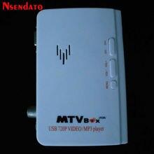 Harici TV Tuner VGA MTV kutusu lcd monitör AV VGA alıcısı Tuner TV Set üstü kutusu uzaktan kumanda destek PAL/NTSC