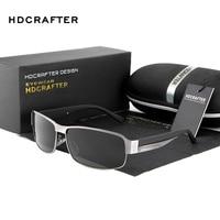 HDCRAFER Fashion Driving Sun Glasses For Men Polarized Sunglasses UV400 Protection Brand Design Eyewear With Oculos