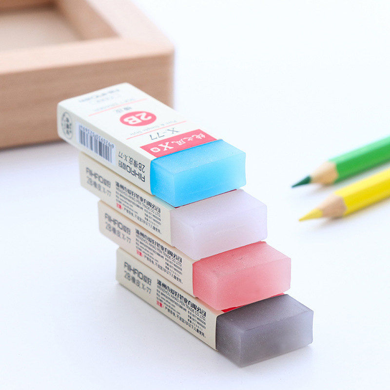 Colorful Cube Eraser Rubber Eraser Cute Kawaii Eraser for Kids School Students Artists 12 Pcs