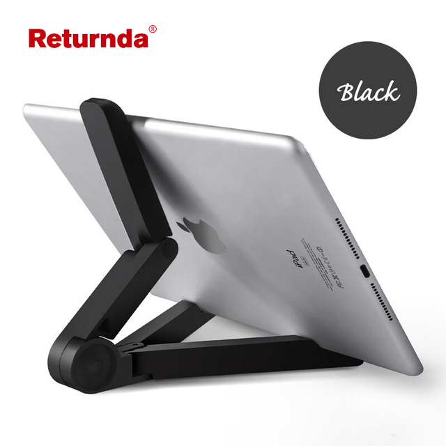 Returnda Phone stand 360 Degree Rotating Folding  the tablet PC Universal Portable Stand Holder Folding Lazy Support Adjustable