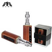 The Unique Athena 60w field mod digital cigarette kits wooden TC operate 510 thread with Atomizer temperature vape vaporizer