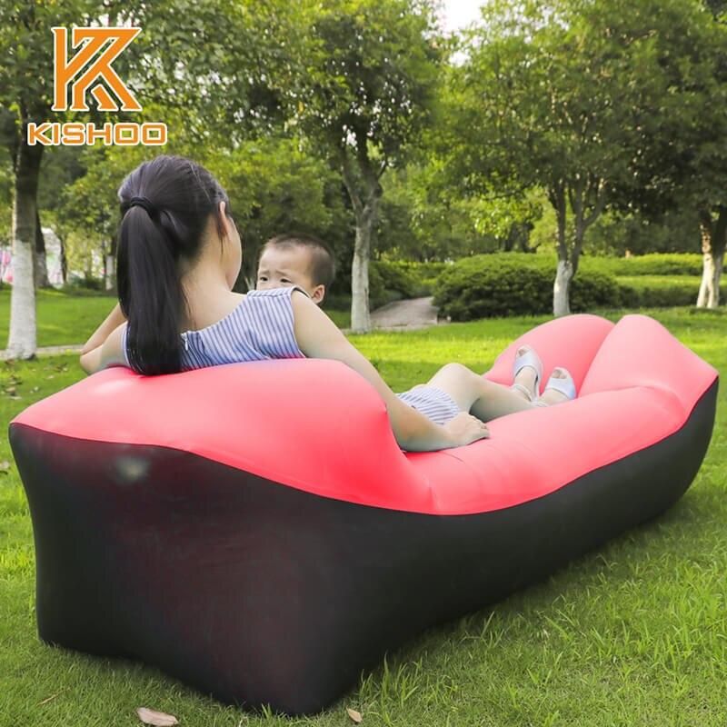 Outdoor aufblasbare sofa für die camping nyoln ripstop luft sofa Strand Leicht zu tragen faul couch aufblasbare camping sofa