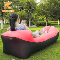 Outdoor Inflatable Sofa For The Camping Nyoln Ripstop Air Sofa Beach Easy To Carry Lazy Couch