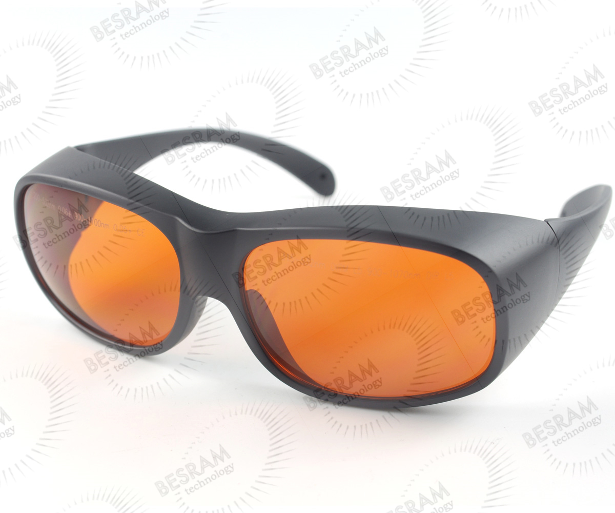 200nm-532nm OD6+ 900n-1100nm OD5+ Laser Protective Goggles Safety Glasses 33#
