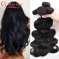 Cheap Wet And Wavy Virgin Brazilian Hair Meches Bresilienne Lots Brazilian Body Wave 4 Bundles 7A Grade Unprocessed Human Hair