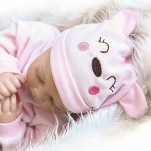 Image 3 - NPK 55cm Soft Body Silicone Reborn Baby Dolls Toy For Sale Best Gift For Girl Kid Girls Newborn NPK Babies