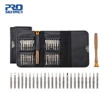 PROSTORMER 1 Set 25 in 1 Torx Precision Screwdriver Repair Tool Set For