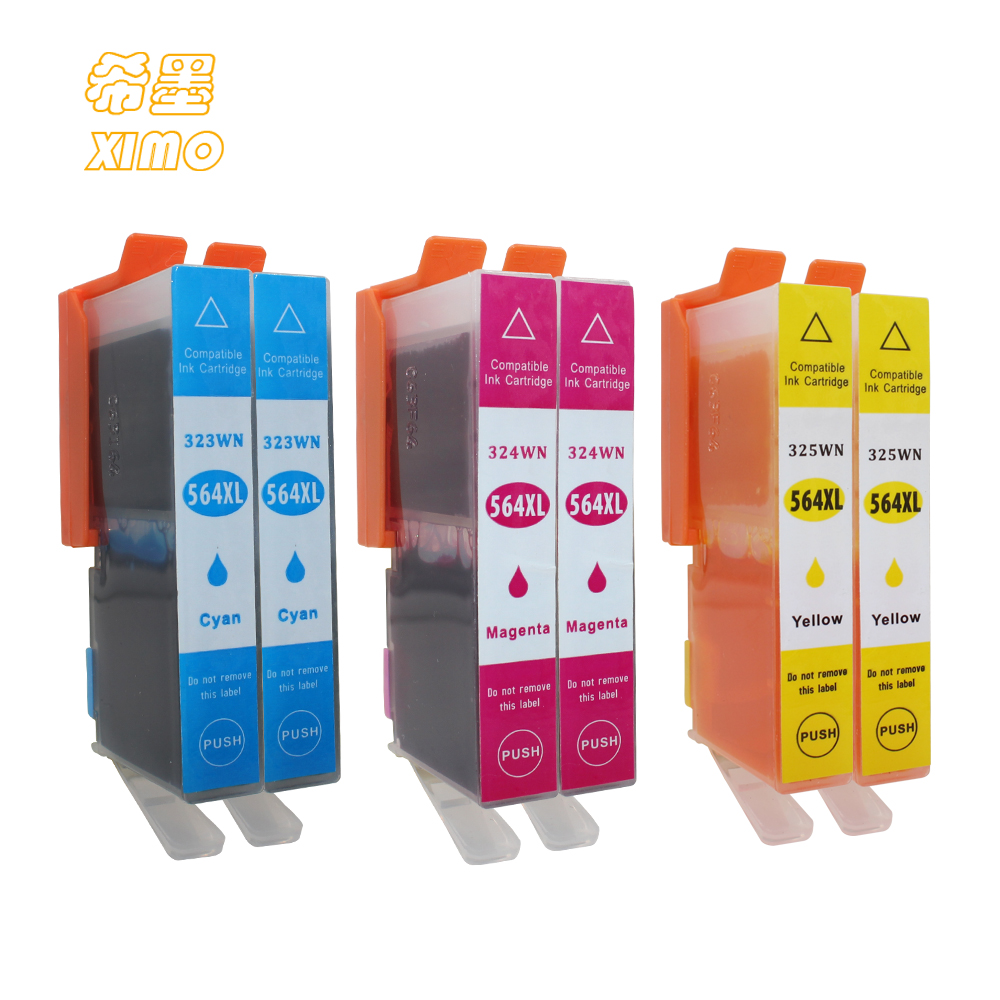 50Pack 564 XL Ink Cartridge With Chip For HP 564 Photosmart B8550 B8500 D5400