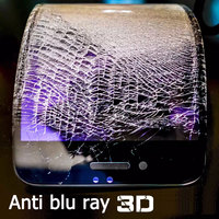 New Real 3D Curved Full Cover Anti Blu Ray Blue Light Eyes Care Tempered Glass Screen