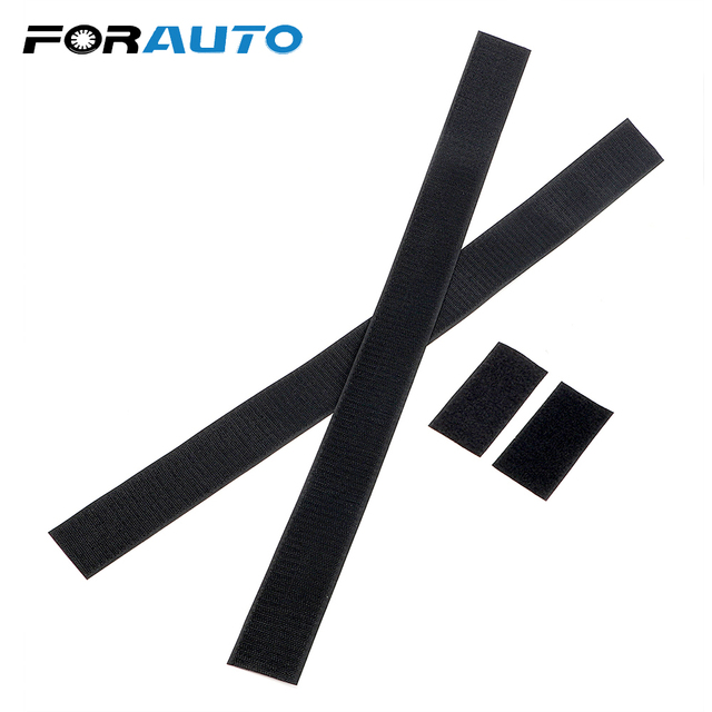 FORAUTO 60 x 5cm Black Belt Fixed Sundry Car Trunk Organizer Fire Extinguisher Mount Straps Stowing Tidying Car-styling