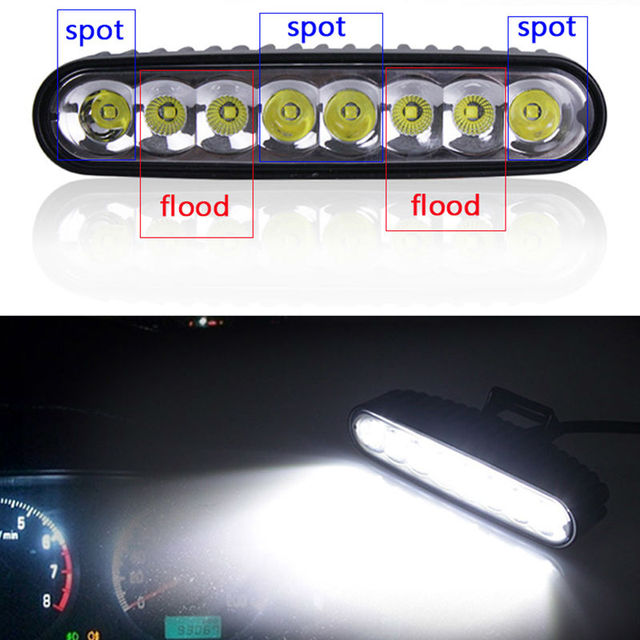 40w 7 led work light bar 12v 24v combo drl daytime running 40w 7 led work light bar 12v 24v combo drl daytime running motorcycle reverse aloadofball Gallery