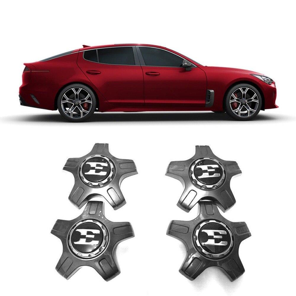 "Lettering Emblem OEM Parts Front Emblem 19/"" Wheel Cap for KIA 17 18 Stinger"