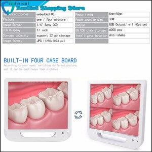 Image 4 - 17 дюймовый монитор USB/Wifi, стоматологическая фотокамера, эндоскоп, 6 светодиодных камер, стоматологическая камера