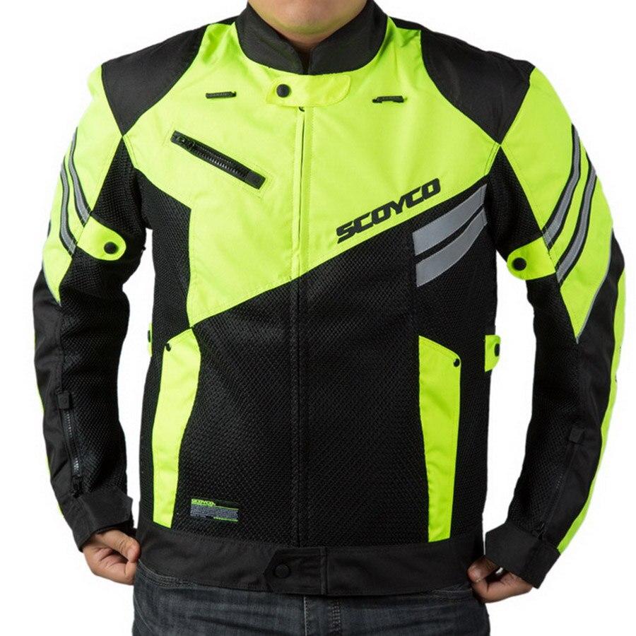 SCOYCO-JK36-men-s-coat-mesh-Summer-Motorcycle-Jacket-riding-suit-Jacket-knight-Crash-proof-suit