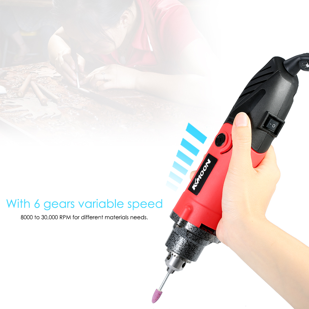 Multi-functional Electric Grinder Set Electric Drill Grinding Rotary Tool with 150pcs Accessories for Milling Drilling Engraver
