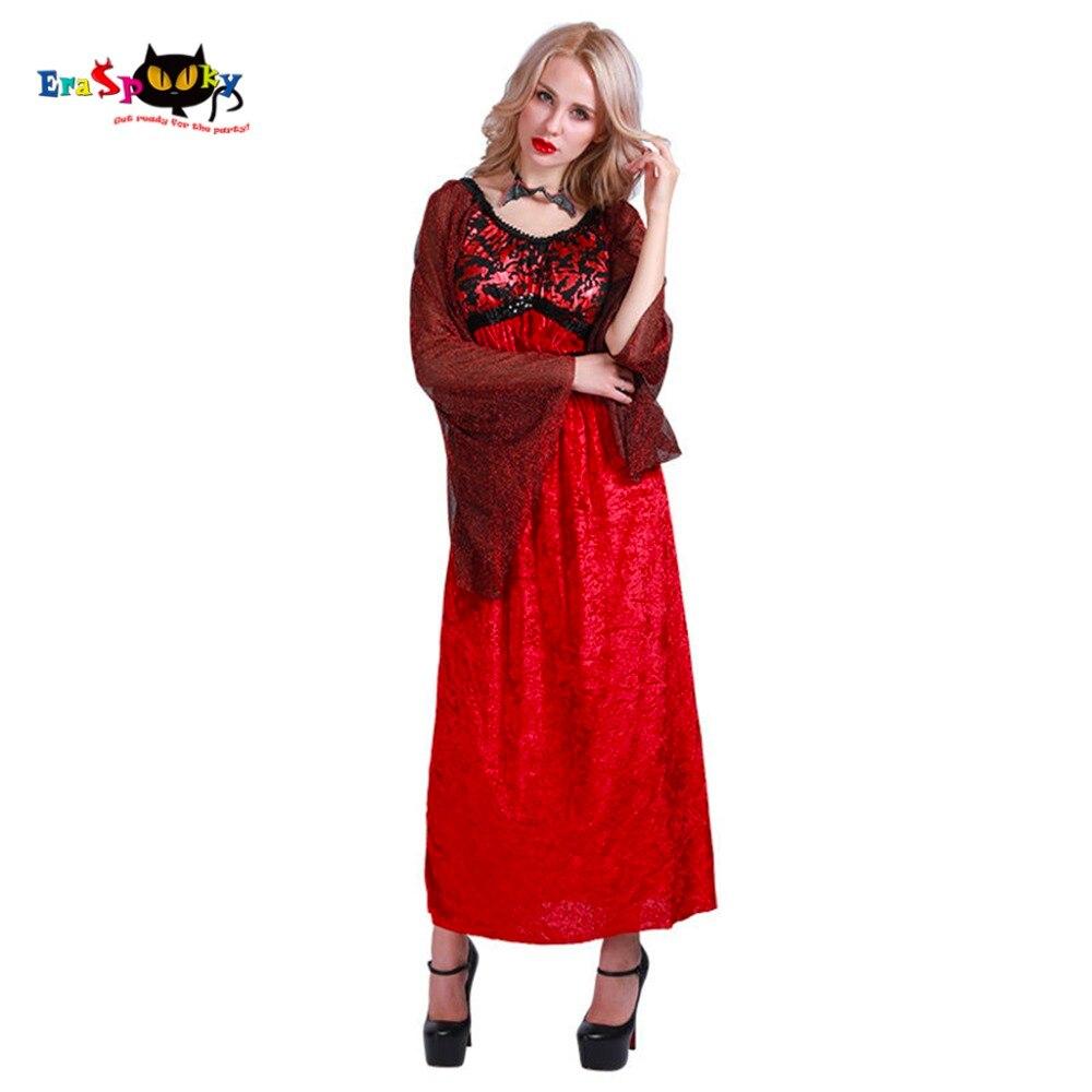 İntibah Donu Vampir Kostyumu Qadın Gothic Cadu Kraliçası Qadın - Karnaval kostyumlar - Fotoqrafiya 1
