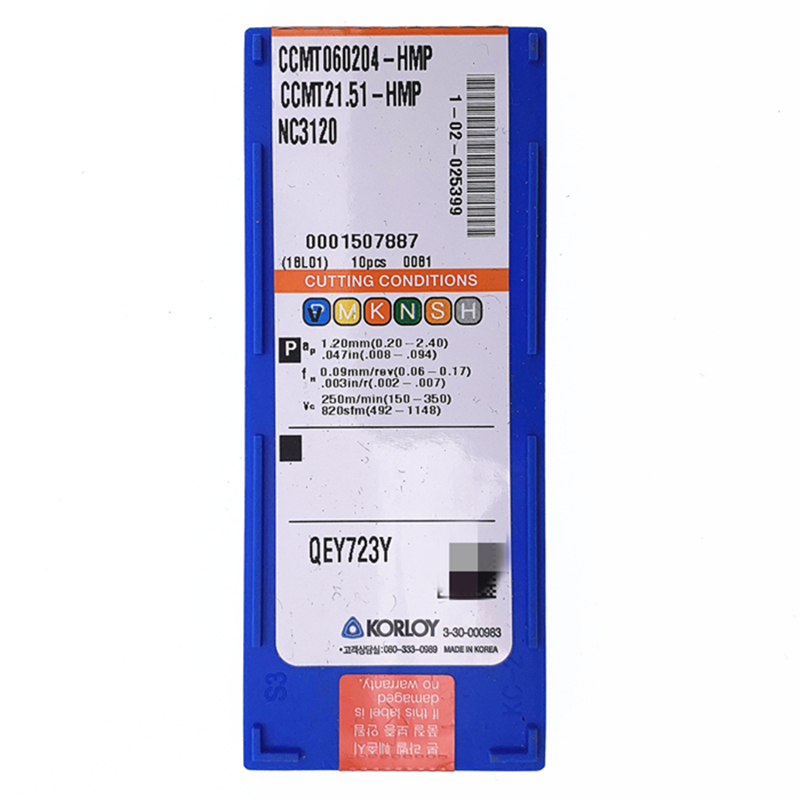 10PCS in BOX Original MITSUBISHI CCMT060204 UE6110 CCMT21.51 Carbide Insert New