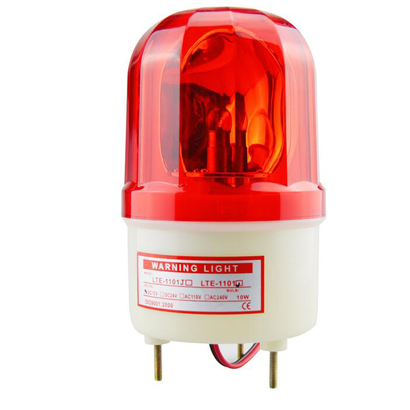 2 Wire  12-24V Sound Strobe 12-24strobe Lamp Rotating Warning Lamp