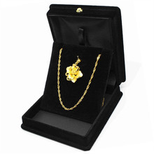 1 Piece Exquisite Velvet Pendant Necklace Jewelry Gift Display Box Ring Bracelet Storage Case Holder Organizer цена и фото