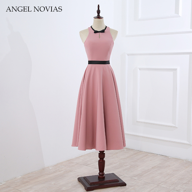 Ankle Length Elegant Casual Prom Dress 2018 Summer Party Dress Angel Novias  Robe De Soiree Longue 2017 82429bdbcfa0