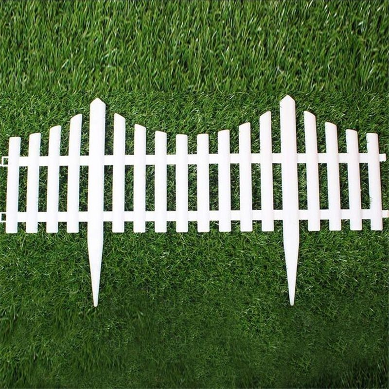 Online Buy Wholesale white plastic garden fencing from ...