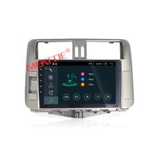 9 inch HD 1024*600 Android7.1 autoradio samochodowy odtwarzacz multimedialny dla Toyota Land Cruiser prado 150 2010-2013 darmowa wysyłka mapa prezent