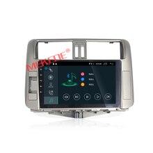 9 pulgadas de ALTA DEFINICIÓN 1024*600 Android7.1 coche autoradio multimedia player para Toyota Land Cruiser prado 150 2010-2013 envío libre mapa regalo