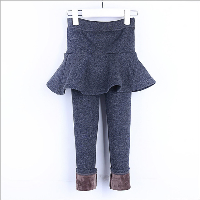 697529561c76 kids leggings girls skirt leggings with fleece velvet warm winter leggins  toddler pants skirt korean baby girl trousers children