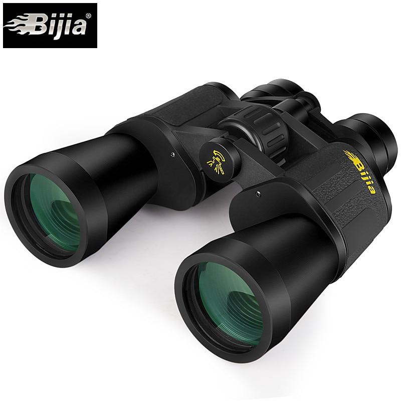 Bijia 10-120x80 Zoom Power Binoculars Zoom No Night Vision Telescope Binocolo Professional Eyepiece Military Monocular BAK4