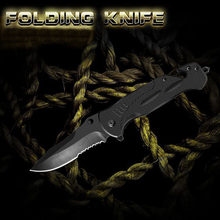 Folding Knife Camping Survival Military Tactical Knives Hunting Multifunction Tool Multitool High Hardness With Whetstone