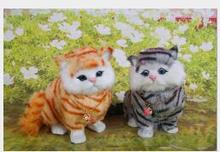 WYZHY will call the tail to manually Home decoration creative desktop decorations photo photography props to send friends gifts wyzhy simulation cat home decoration creative desktop decorations photo photography props to send friends gifts 14cm x11cm