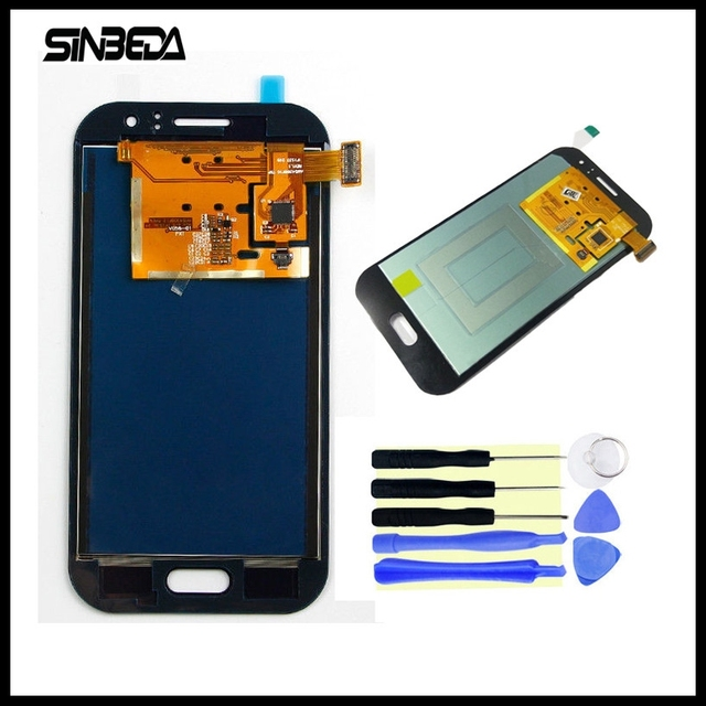 Sinbeda 100% Tested 4.3 inch LCD Screen For Samsung Galaxy J1 Ace J110 J110H J110F LCD Display with Touch Digitizer Assembly