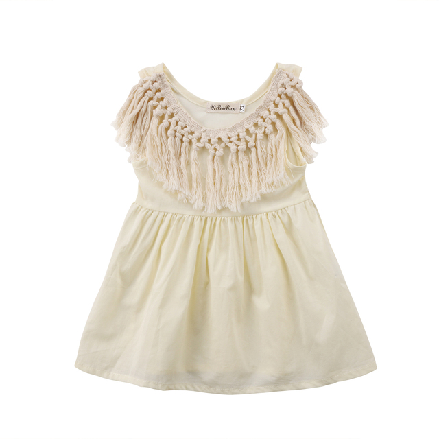 Light Yellow Toddler Dress