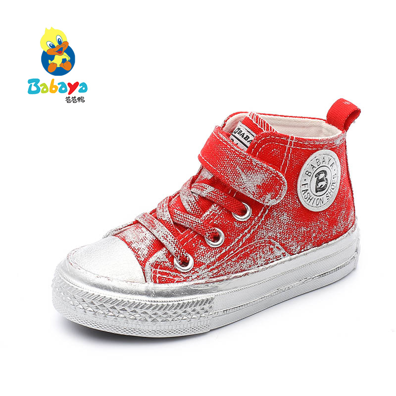 babaya Children Canvas Shoes High-Up Boys casual Shoes New Fashion Small White Shoes for Girls Spring Autumn 2019 kids sneakersbabaya Children Canvas Shoes High-Up Boys casual Shoes New Fashion Small White Shoes for Girls Spring Autumn 2019 kids sneakers