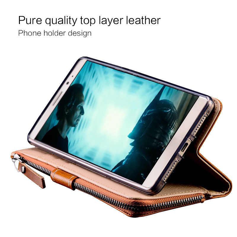 Lật Ốp Lưng Điện Thoại Xiaomi 9 8 Mix2S Mix3 A2 A1 Ốp Lưng Dây Kéo Chất Lượng Cao Túi Redm 7 7Pro 6 6A Ốp Lưng Pocophone F1 K20 4X