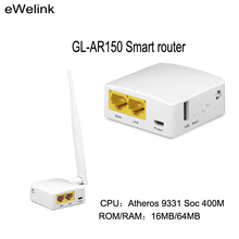 GL-AR150 AR9331 Smart WiFi Wireless Router150Mbps Repeater OPENWRT Firmware External Internal Antenna Support POE Module