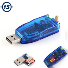 DC-DC 5V to 3.3V 9V 12V 24V USB Step UP / Down Power Supply Module Adjustable Boost Buck Converter Out DC 1.0V-24V With Case(China)