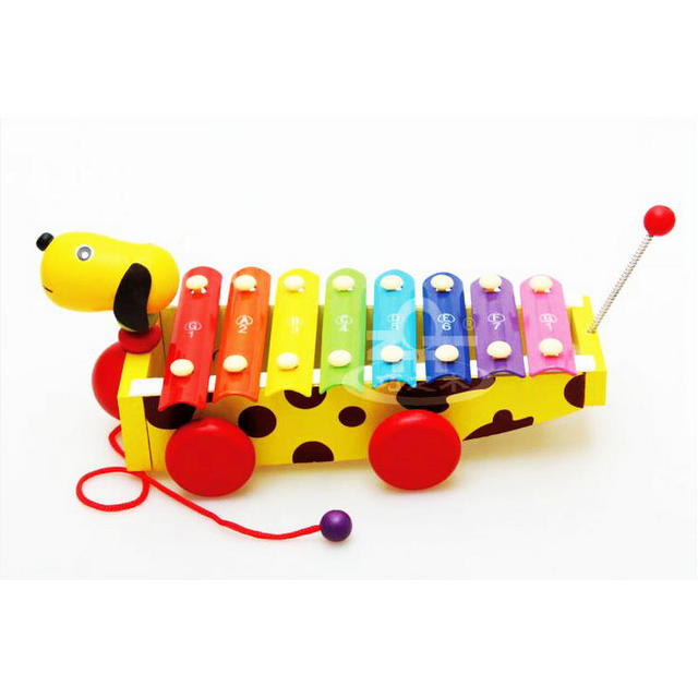 Free Shipping Kids Xylophone Classic Wooden Music Toy Musical