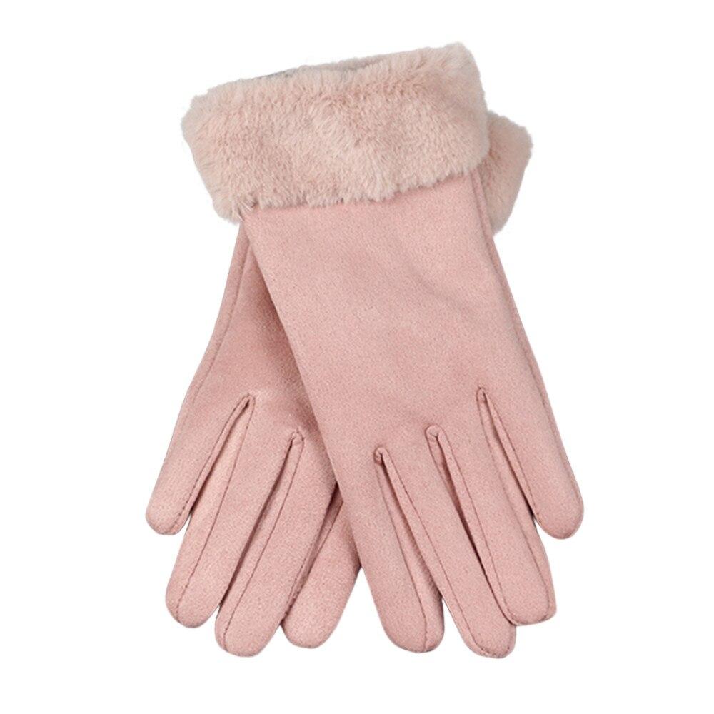 Ski-handschuhe StoßFest Und Antimagnetisch Mode 1 Para Herbst Winter Frauen Wildleder Handschuhe Warm Halten Und Touchscreen Volle Finger Handschuhe Fäustlinge Skifahren Handschuhe O10 Oc6 Wasserdicht