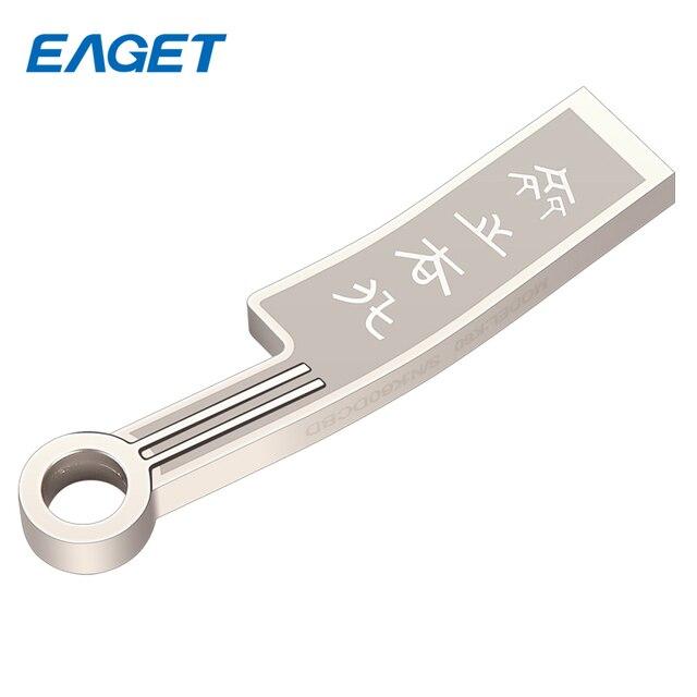 K60 eaget usb 3.0 16 gb 32 gb 64 gb presente usb flash drive moda faca de moedas antigas de metal à prova d' água memory stick pendrive