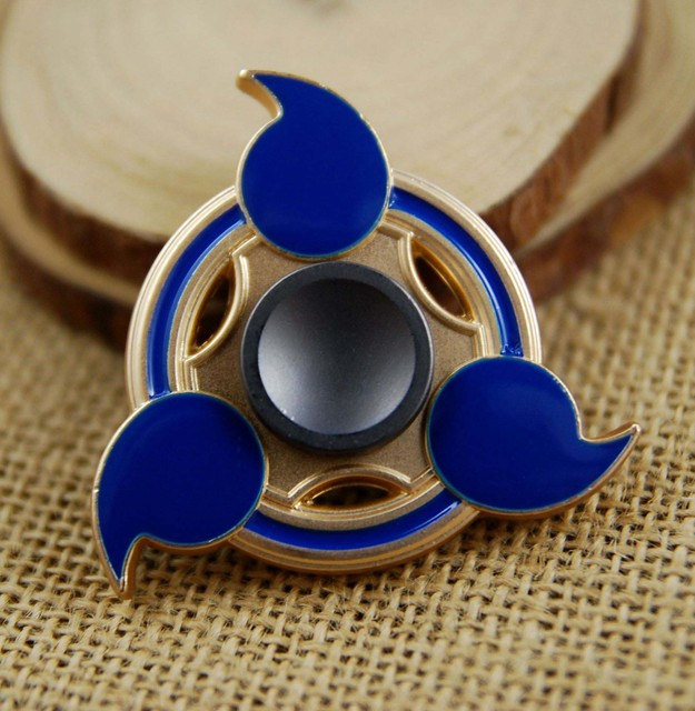 Naruto EDC Hand Spinner Cube Creative Funny Toy Metal Spinner
