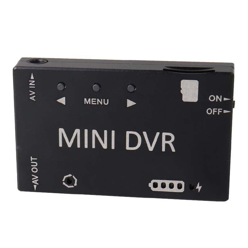 Fpv-рекордер Мини DVR HD микро Аудио Видео рекордер NTSC/PAL переключаемый встроенный аккумулятор для RC Дрон гонки Фристайл VR Goggle